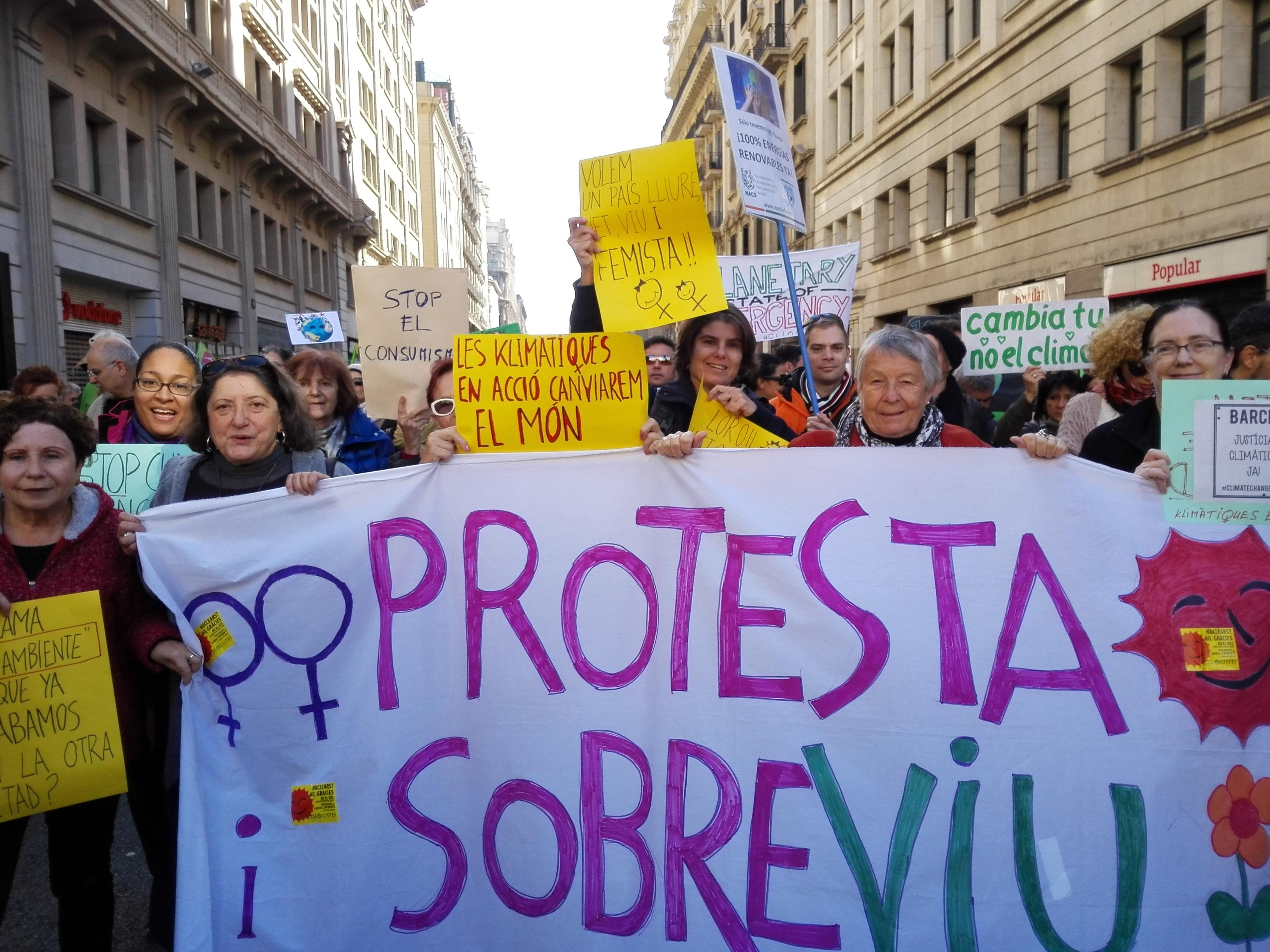 Image result for marxa pel clima barcelona