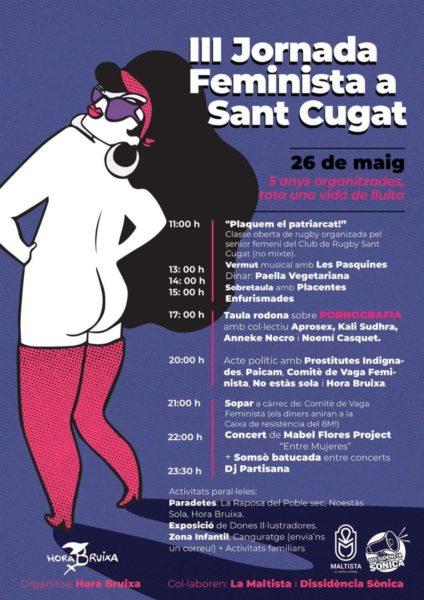 26/05::.  III JORNADA FEMINISTA A #SantCugat