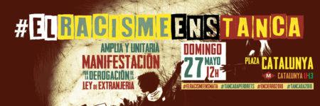 27/05::. Manifestació #ElRacismeEnsTanca