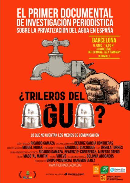 06/06::. Projecció del documental '¿Trileros del agua?'