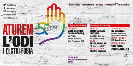 30/06::. Manifestació Aturem l'odi i l'LGTBI-fòbia