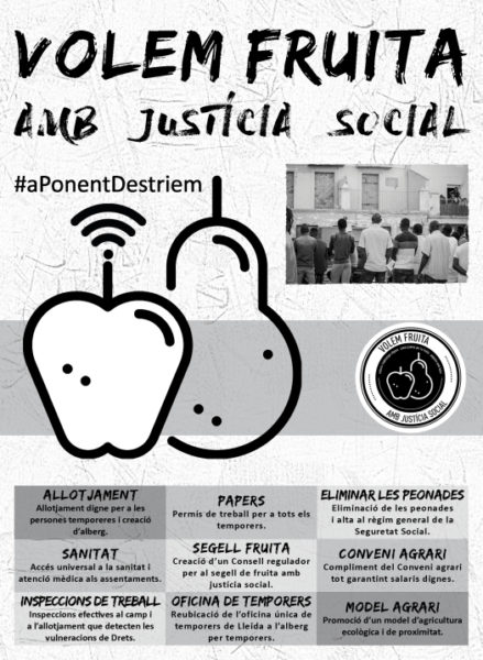 [MANIFEST] CAMPANYA FRUITA AMB JUSTÍCIA SOCIAL