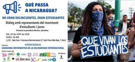 20/06::. Què passa a Nicaragua? No eran delincuentes, eran estudiantes