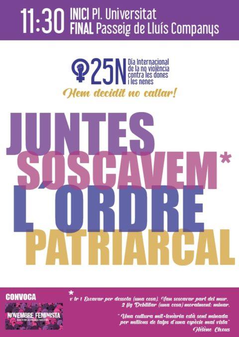25N Manifestació