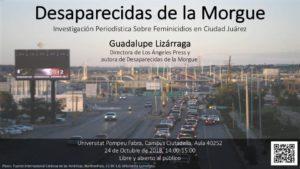 24/10::. Desaparecidas de la Morgue- Investigación Periodística Sobre Feminicidios en Ciudad Juárez
