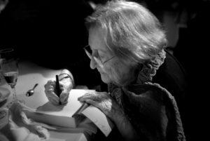 Divendres al vespre, l'Any Montserrat Abelló quedava clausurat amb un acte al Saló de Sant Jordi del Palau de la Generalitat.