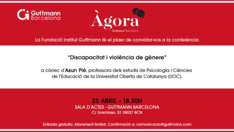 Àgora Guttmann Barcelona - Discapacitat i violència de gènere