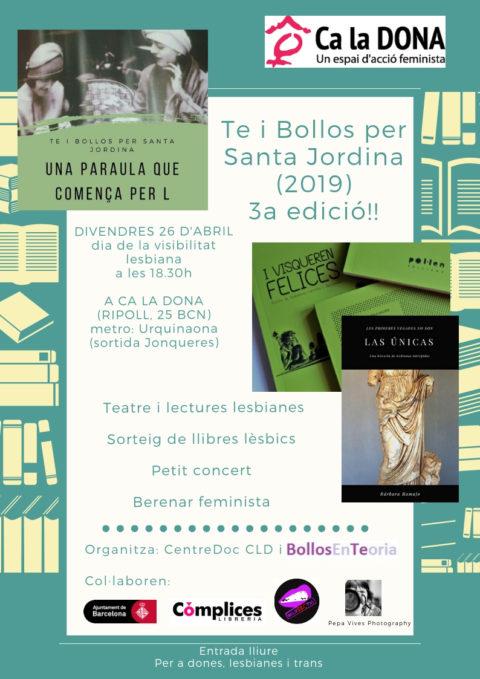 Te i Bollos 2019 CLD_cartell
