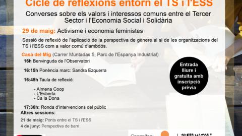 Cicle de Reflexions entorn el Tercer Sector i l'Economia Social i Solidàri
