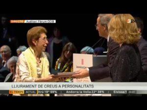 Mercè Otero Creu de Sant Jordi