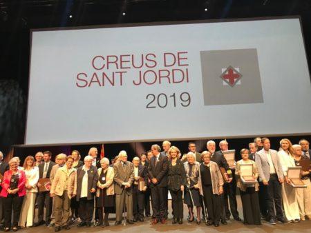Creu de Sant Jordi 2019