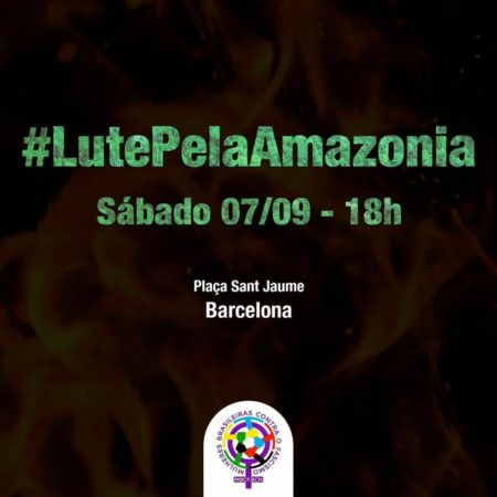 "Manifestació ""Lluita per l'Amazonas"""