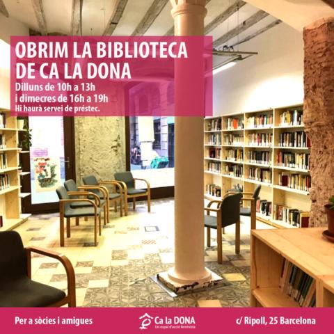 Biblioteca Ca la Dona