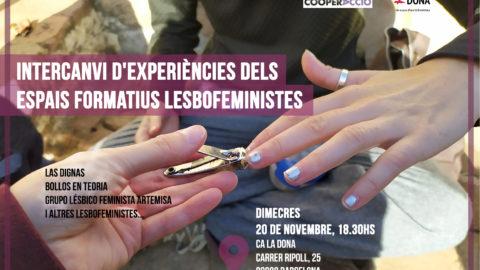 Intercanvi d'experiències dels espais formatius lesbofeministes