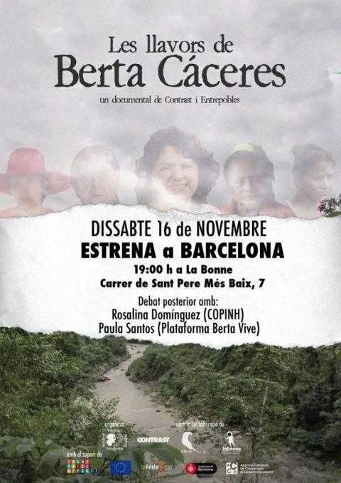 Documental Les Llavors de Berta Cáceres