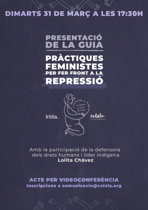 Prácticas feministas para hacer frente a la represión
