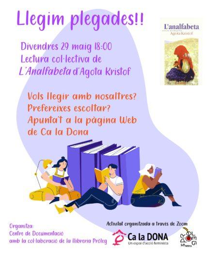 "Lectura col·lectiva de ""L'Analfabeta"" d'Agota Kristof"