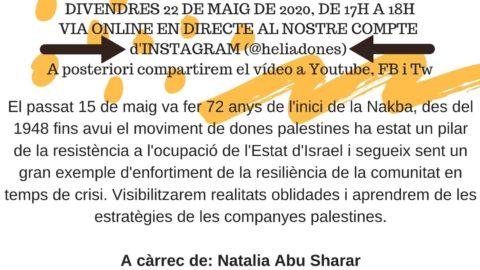 Resistències dels moviments de dones palestines en temps de crisi global