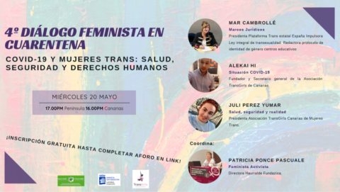 Cuerpos políticos, derechos Humanos . 4º Diálogo Feminista en cuarentena