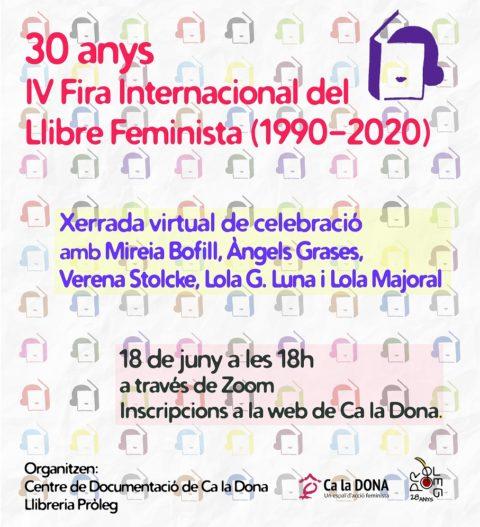 IV Fira Internacional del Llibre Feminista