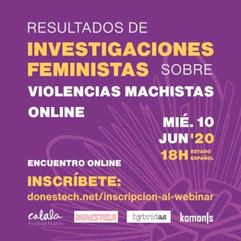 Conversatorio online: Violencias machistas digitales