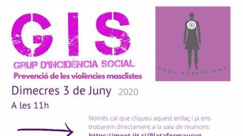GIS Grup d'Incidència Social de Prevenció de les Violències Masclistes
