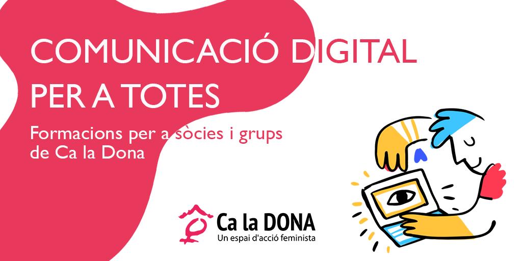 COMUNICACIÓ DIGITAL PER A TOTES