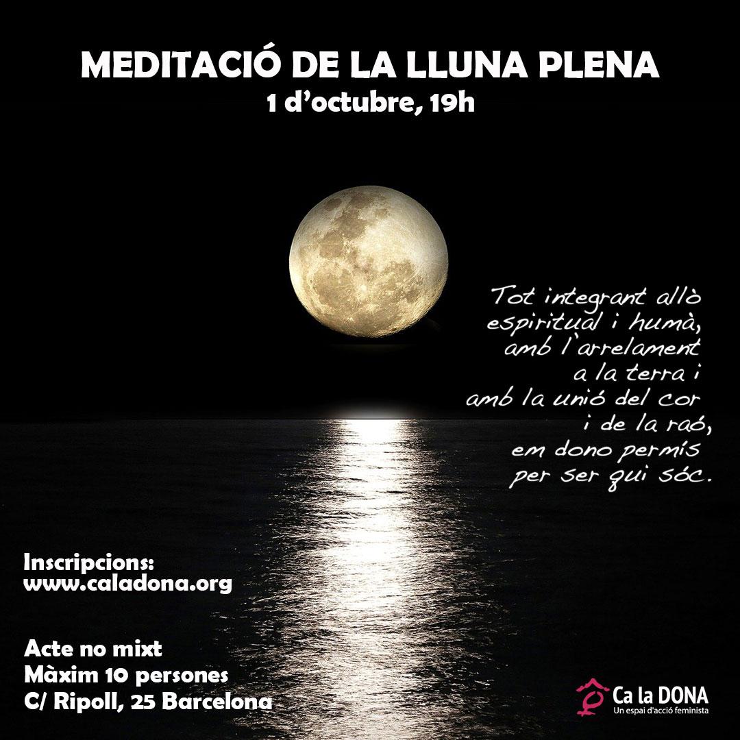 Meditació lluna plena