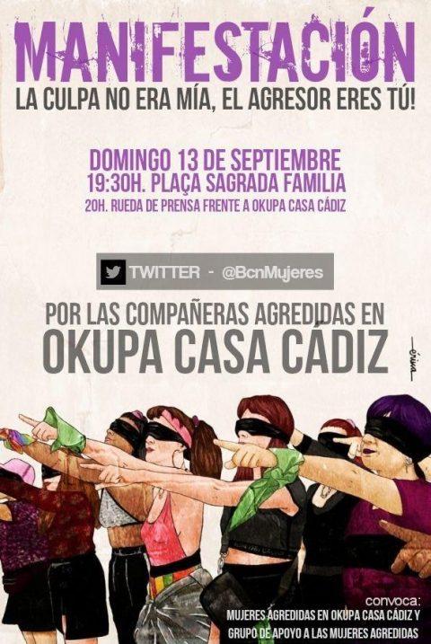 Dones Okupa Casa Cádiz