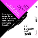 """""""La institució art vs. les pràctiques artístiques"""""""