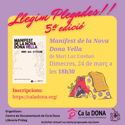 5a lectura col·lectiva_Manifest nova dona vella_24 març 2021